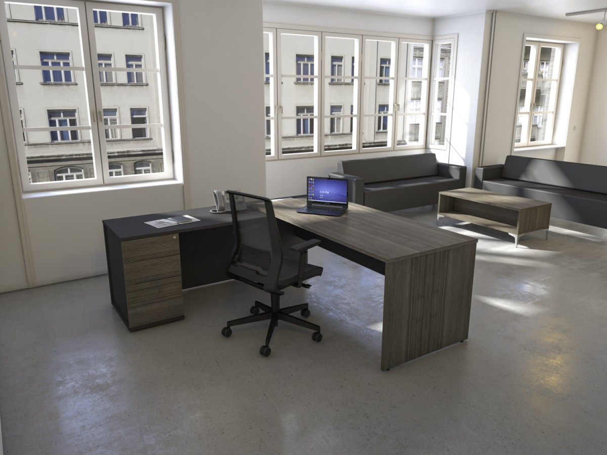 Radial Executive Workstation Office Desks Leicester - Office chairs leicester
