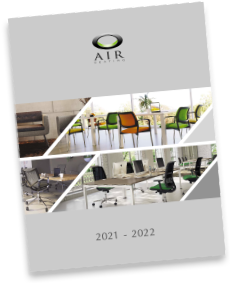 A photo of the Air Seating 2022 brochure